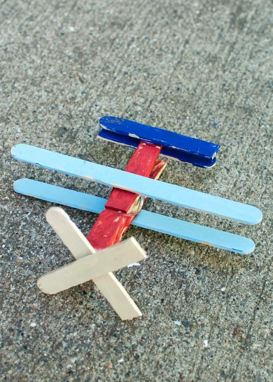 Popsicle Airplanes