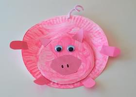 : farm animal paper plates - pezcame.com