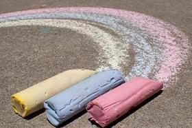 "DIY: Sidewalk Chalk ""Pops"" - Project Nursery"