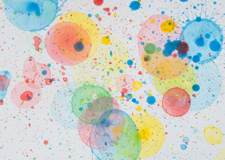 Bubbles In Paint Can