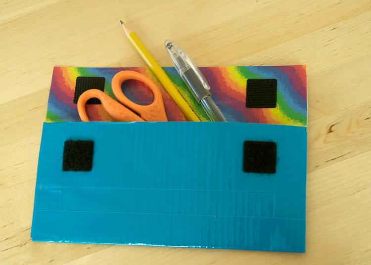 Duck Tape Pencil Cases