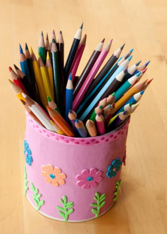 Upcycled Pencil Pot