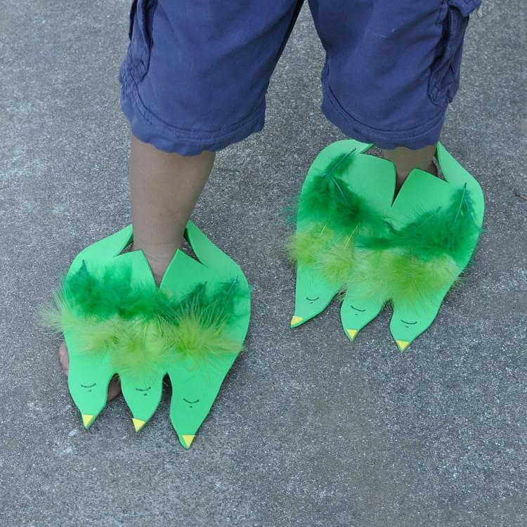 Dino (or Monster) Feet