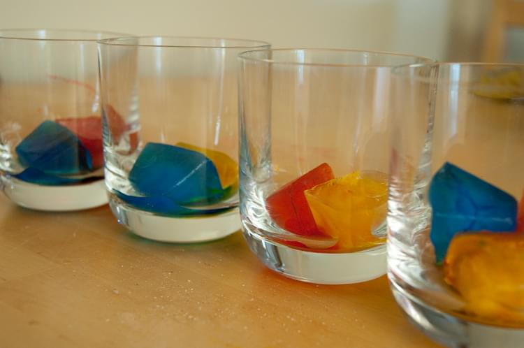 Color Mixing Ice