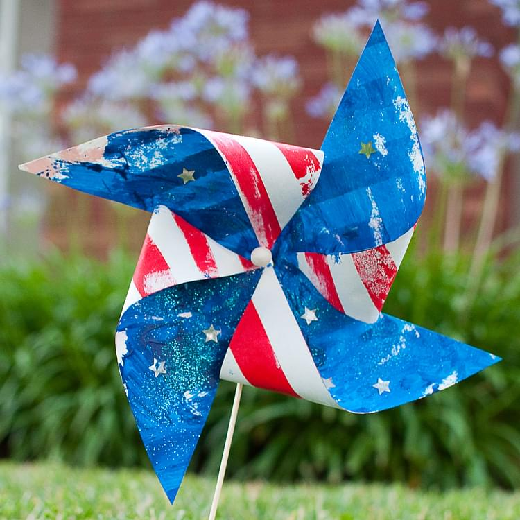 Stars n Stripes Pinwheels
