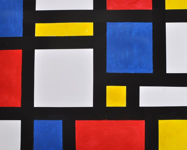 Mondrian by Kids